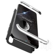 Xiaomi Redmi Note 7 Three Stage Splicing Full Case (Black Silver)   Accessories for Mobile Phones & Tablets for sale in Lagos State, Ikeja