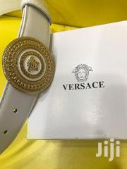Versace Quality Belt White | Clothing Accessories for sale in Lagos State, Surulere