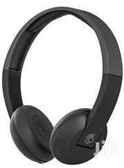 Skullcandy Uproar Bluetooth Wireless On-ear Headphones - Black | Headphones for sale in Lagos State, Ikeja