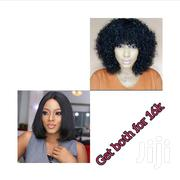 Combo Deal! Bob Wig+ Baby Curls Fringe | Hair Beauty for sale in Lagos State, Ikeja