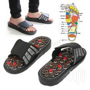 Foot Reflex Massage Acupuncture Healthy Slippers Shoes Massager | Massagers for sale in Lagos State