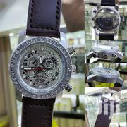 Classic Skeletal BULGARI Leather Wristwatch   Watches for sale in Lagos State, Lagos Island
