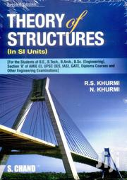 Theory Of Structures By R. S. Khurmi, N. Khurmi | Books & Games for sale in Lagos State, Ikeja