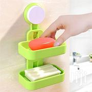 Generic Double Layer Soap Rack With Suction | Home Accessories for sale in Lagos State