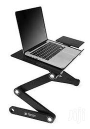 Generic Adjustable Laptop Table With Mouse Pad & Cooler | Computer Accessories  for sale in Lagos State