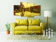 Calm Ocean 4 Pcs Canvas Wall Art | Home Accessories for sale in Lagos State, Agege