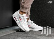 Nike Airmax 1 Jewel Swoosh Sneakers - White | Shoes for sale in Lagos State, Ikeja