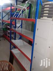 Heavy Duty Butterfly Hole Warehouse Storage Shelving Rack | Store Equipment for sale in Lagos State, Ojo