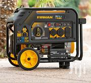 Firman Electric Start Gas or Propane Dual Fuel Portable Generator | Electrical Equipment for sale in Abuja (FCT) State, Lokogoma