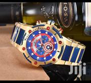 Blue Red Big Face Rosegold Designer's Watch by Invicta | Watches for sale in Lagos State, Lagos Island