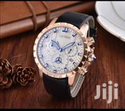 Gold With White Face Chronograph Designer Watch by Cartier   Watches for sale in Lagos State, Lagos Island