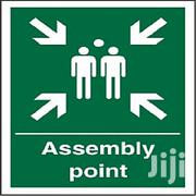 Assembly Point And Muster Signage | Other Repair & Constraction Items for sale in Lagos State, Lagos Island