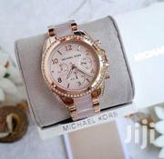 Golden With Stone Design Chronograph Ladies Watch by Michael Kors | Watches for sale in Lagos State, Lagos Island