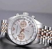 Gold Silver Chronograph Designer's Watch by Emporio Armani | Watches for sale in Lagos State, Lagos Island