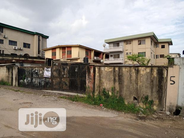 Dry and Gated Full Plot of Land for Sale at Ifako, Gbagada, Lagos