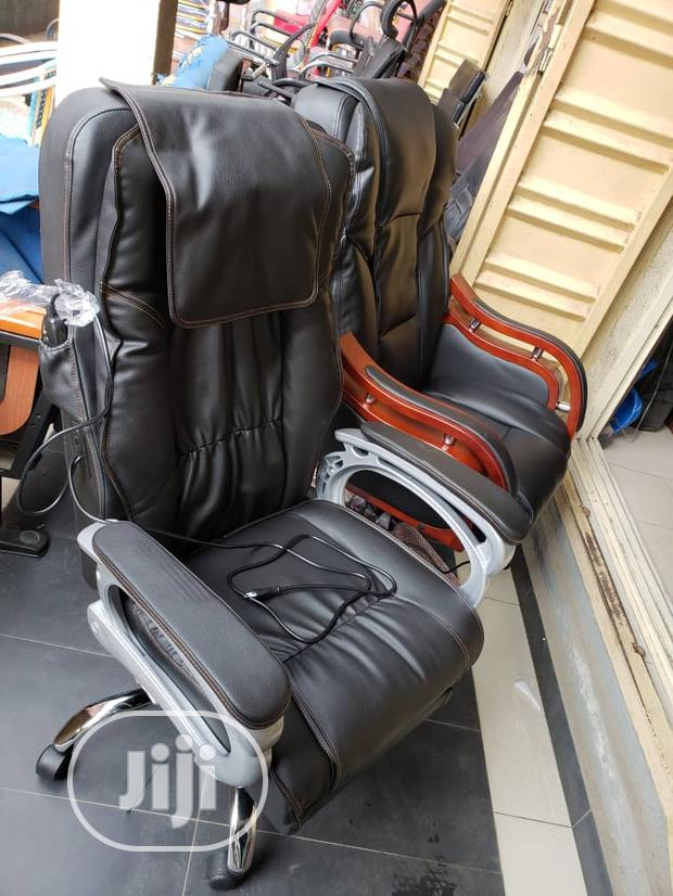 Pure Leather Massage Chair
