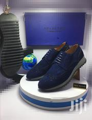 Blue Suede Selected Designer Oxford Shoes   Shoes for sale in Lagos State, Lagos Island