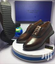 Dark Brown Leather Designer Oxford Shoes   Shoes for sale in Lagos State, Lagos Island