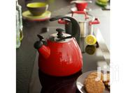 Enamel Kettle 2.5L Fusion Fresh Vivid Red | Kitchen & Dining for sale in Lagos State, Amuwo-Odofin