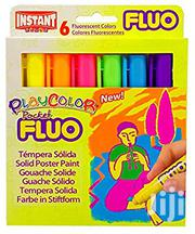 Fluorescent Playcolour Solid Poster Paint | Stationery for sale in Lagos State, Surulere