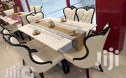 New Smart 6 Seater Turkey Royal Marble Dining Table Set | Furniture for sale in Anambra State, Onitsha
