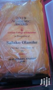 Acrylic Award With Printing   Arts & Crafts for sale in Abuja (FCT) State, Utako