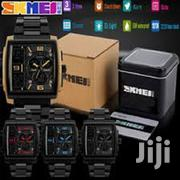 Skmei Dual Display Wrist Watch Rectangle Shape.   Watches for sale in Lagos State, Ikeja