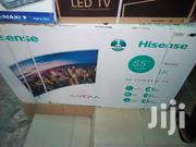 Hisense 55 Inches Curve Smart Led 4k Televisions | TV & DVD Equipment for sale in Lagos State, Ojo