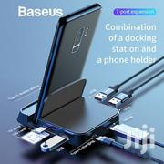 Baseus 7 IN 1 Huawei Samsung Type-c Phone HUB Docking Dock Station | Accessories for Mobile Phones & Tablets for sale in Lagos State, Ikeja