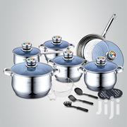 Royalty Line 18 Pieces Stainless Steel Inox Cookware Set With Lids | Kitchen & Dining for sale in Lagos State, Ojo