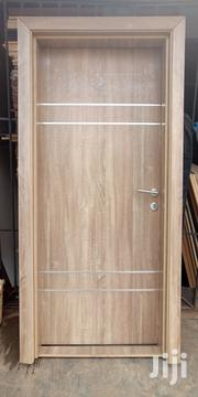 Solid HDF Doors With Chrome | Doors for sale in Lagos State, Mushin