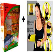 Hot Belt Slimming Belt/Slims Belly Fat + Tummy Fat Reducing Tea | Tools & Accessories for sale in Lagos State, Ojo