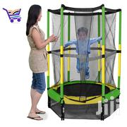 10ft Bounce Trampoline With Safety Enclosure | Toys for sale in Abuja (FCT) State, Central Business Dis