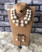 Bead Necklace (Necklace Earrings And Bracelet) | Jewelry for sale in Delta State, Ugheli