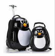 PENGUIN 2PCS SET Children Trolley School Bags Kids Luggage   Babies & Kids Accessories for sale in Lagos State, Amuwo-Odofin