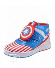Captain America Toddler Stripes SNEAKER | Children's Shoes for sale in Lagos State, Magodo