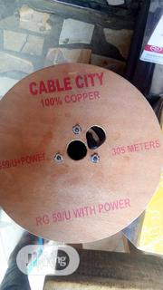 RG59 CCTV Cable With Power | Accessories & Supplies for Electronics for sale in Lagos State, Ojo