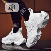 Men's Classic Thick Soled White Sneakers | Shoes for sale in Lagos State, Surulere
