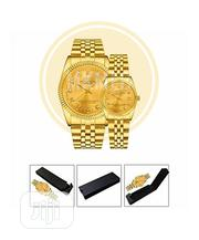 Bosck Top Luxury Lovers' Couple Gold Watches   Watches for sale in Lagos State, Amuwo-Odofin