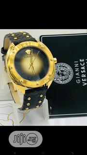 Gianne Versace Leather Wristwatch | Watches for sale in Lagos State, Lagos Island