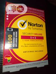 Norton Security Deluxe 1pc Plus 1 Free License   Software for sale in Lagos State, Lagos Island