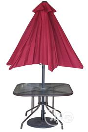 New & High Quality Outdoor/Garden Chairs Tables With Umbrella/Shade. | Garden for sale in Lagos State, Alimosho
