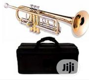 Yamaha Professional Gold Trumpet With Accessories | Musical Instruments & Gear for sale in Lagos State, Yaba