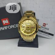Naviforce Gold Luxurious Watch For Men | Watches for sale in Lagos State, Agboyi/Ketu