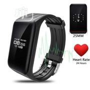 Water Resistant Heart Rate & Bp Monitoring Sport Fitness Tracker | Smart Watches & Trackers for sale in Lagos State, Ikeja