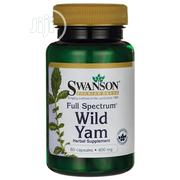 Swanson Wild Yam 400mg - 60 Capsules   Vitamins & Supplements for sale in Lagos State, Lekki Phase 1