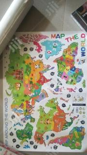 World Map Sticker Wallpaper | Home Accessories for sale in Abuja (FCT) State, Dutse-Alhaji
