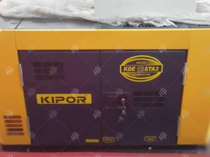 High Quality Kipor Desiel Generator 12.5kva Soundproof Supper Silent | Electrical Equipment for sale in Ojo, Lagos State, Nigeria