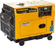 ✓ Original Sumac Firman 7.0kva Soundproof Key Start Avs + Warranty | Electrical Equipment for sale in Lagos State, Ojo