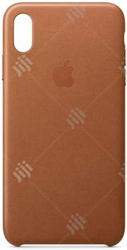 Apple iPhone Leather Case (For iPhone Xs Max) | Accessories for Mobile Phones & Tablets for sale in Lagos State, Ikeja